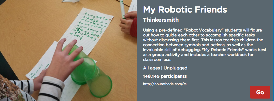 http://csedweek.org/unplugged/thinkersmith